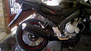 My Black New Vixion Lightning 2014