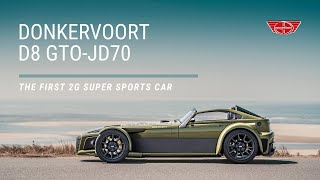 Donkervoort D8 GTO-JD70 // The First 2G Super Sports Car