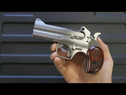 Review: Bond Arms Snake Slayer IV - A modern derringer