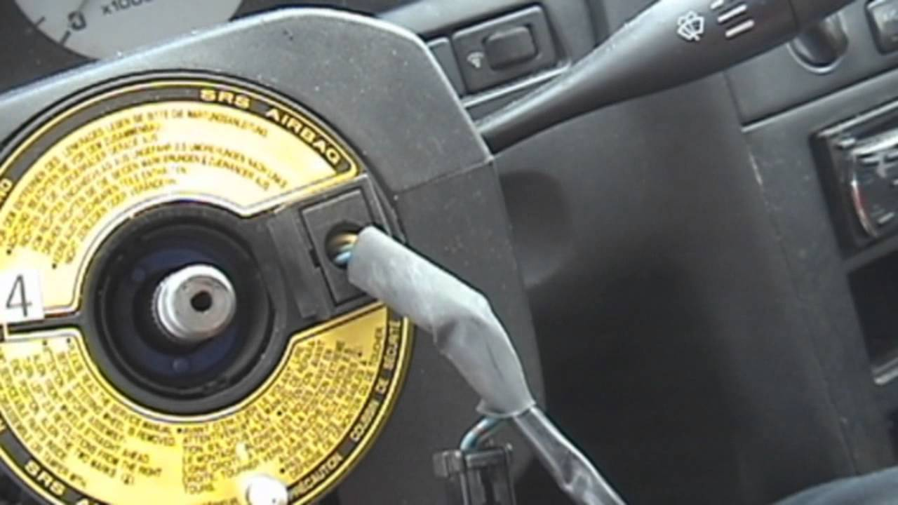 2014 Altima Fuse Diagram 1995 1999 Nissan Maxima Steering Wheel Replacement Youtube