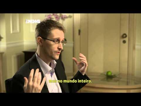 Edward Snowden - Entrevista Globo News (Milênio Especial) - Parte 03 [PT-BR]