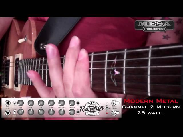 MESA/Boogie Mini Rectifier Ch. 2 MODERN – Metal