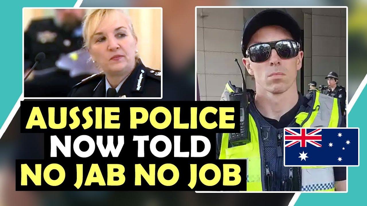 AUSSIE POLICE Now Told NO JAB NO JOB / Hugo Talks #lockdown