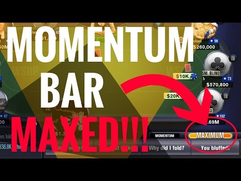 Maxing OUT The Momentum Bar For POKER PRO STATUS   WSOP Game Guide   Overview + Walkthrough