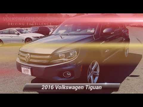Certified 2016 Volkswagen Tiguan R-Line, Union, NJ GW615323