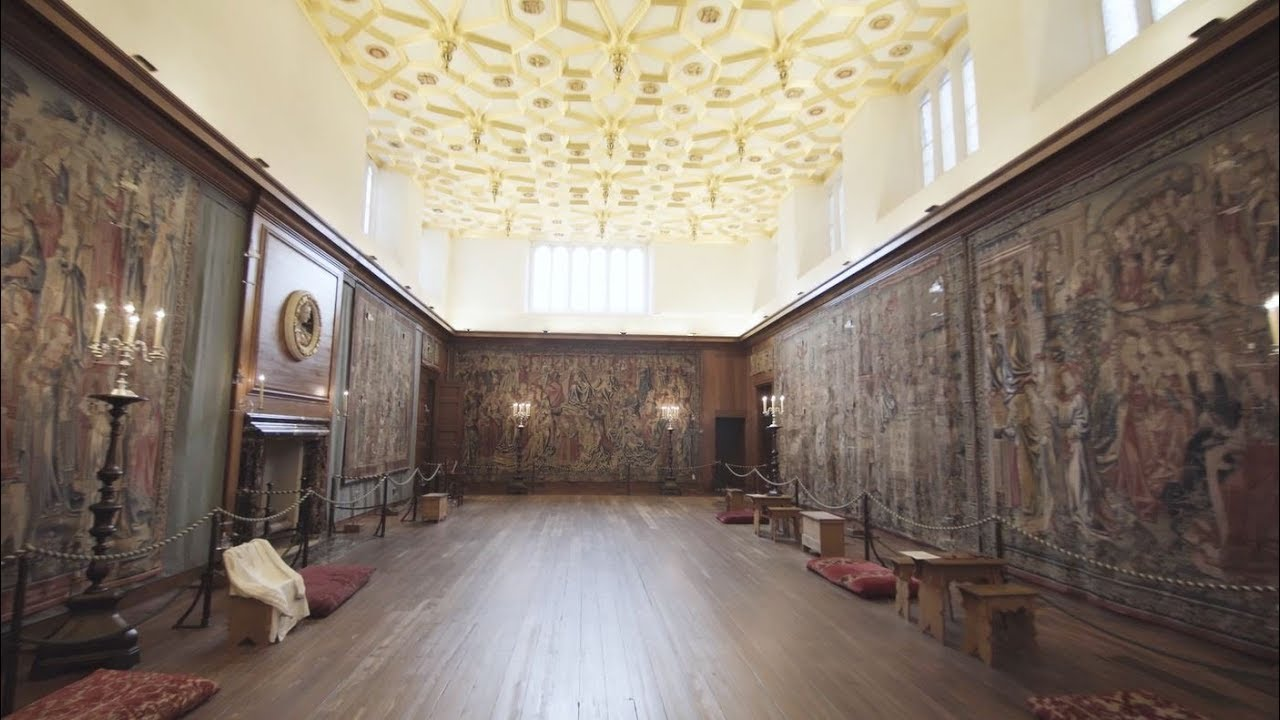 Smart Tech And The Tapestries At Hampton Court Palace