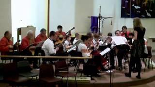 Kalinka Balalaika Orchestra and Kalina Balalaika Ensemble March 2013