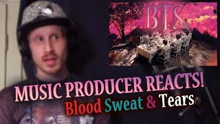Music Producer Reacts to BTS - Blood Sweat & Tears