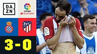 Atletico-Pleite nach Diego Godins Eigentor: Espanyol Barcelona - Atletico Madrid 3:0 | LaLiga | DAZN