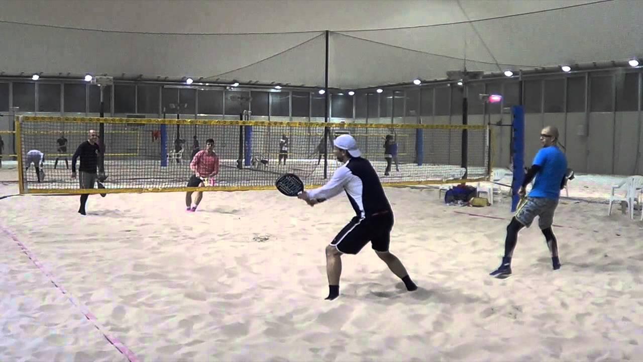 Cramarossa - Negretti / Cattini - Oneta beach tennis beach stadium 17-01-16