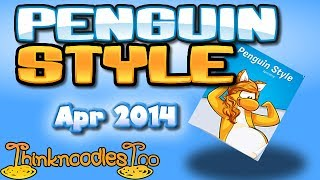 Club Penguin: April 2014 Clothing Catalog Cheats