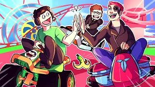 Mario Kart 8 Funny Moments: No Bikes Allowed, Baby Park Redemption & The Irish Americans!