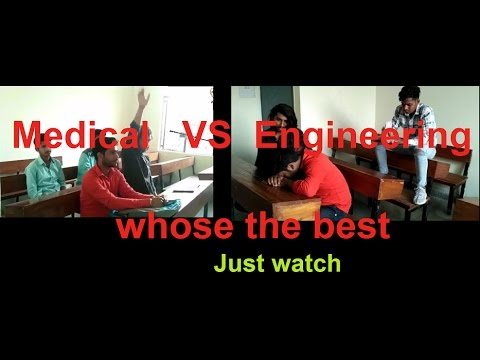 #bgd presents - Engineering students VS  Medical (doctor) students... whose the best.....