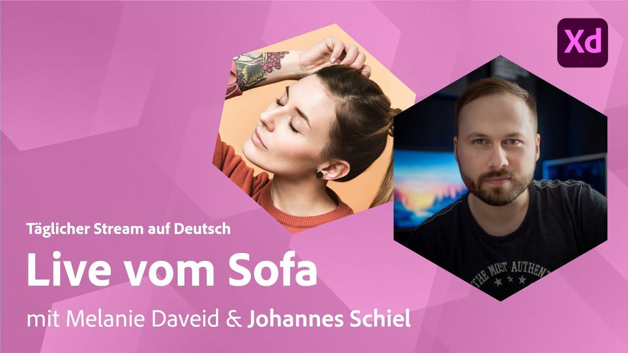 UI/UX Design mit Melanie Daveid und Johannes Schiel von Unleashed Design |Adobe Live