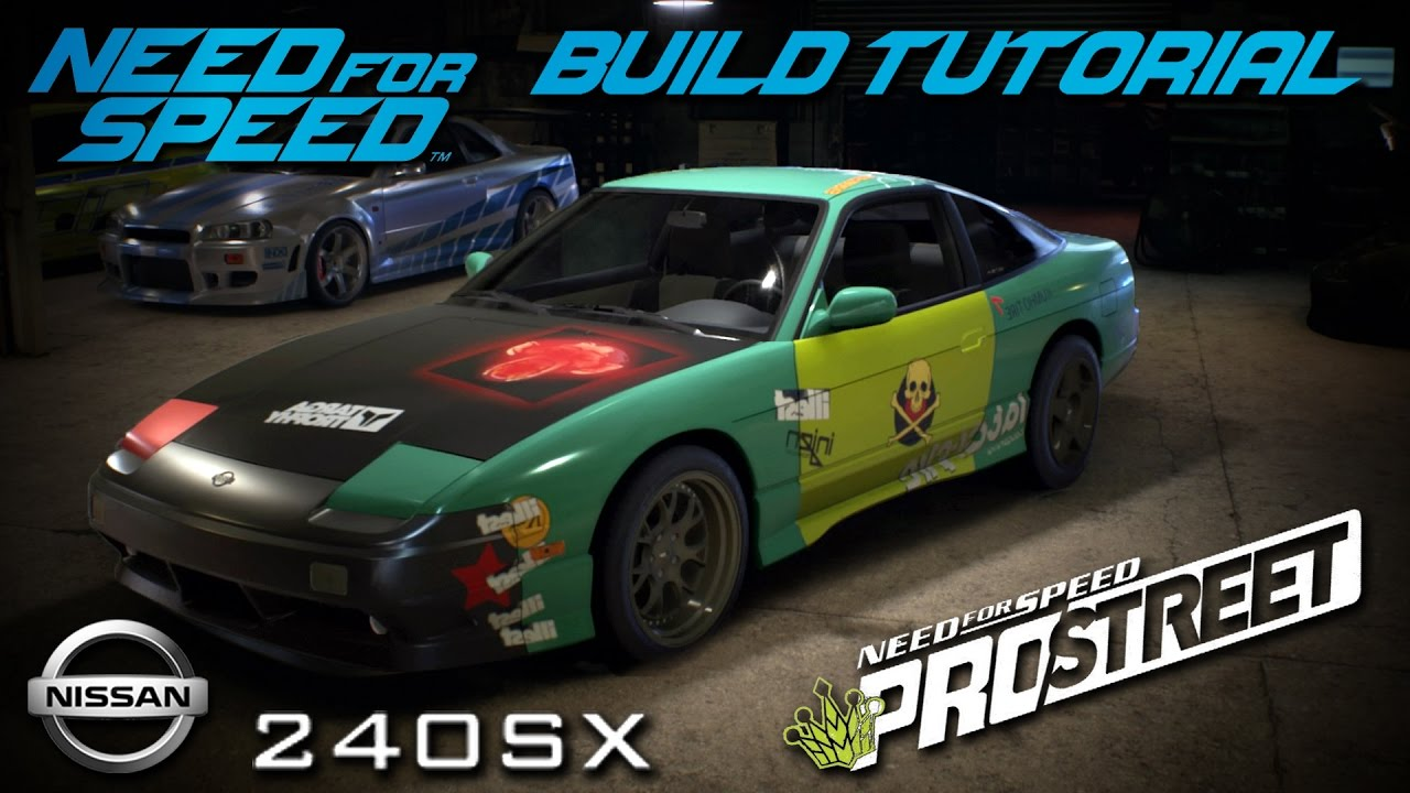 Need For Speed 2015 Pro Street Ryan Cooper Nissan 240sx