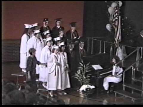 Lawrenceburg High School (Indiana) Graduation 1988