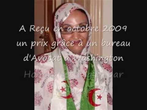 Aminatou Haidar.wmv