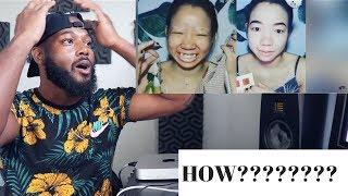 13 Amazing Makeup Transformations 😱 The Power of Makeup 2018 #makeupchallenge  | REACTION