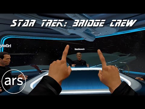 Ars Technica editors test drive Star Trek: Bridge Crew | Ars Technica