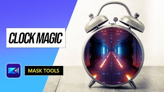 Turn Your Clock into a Surreal Video Effect with Mask Tool | PowerDirector Video Editor App