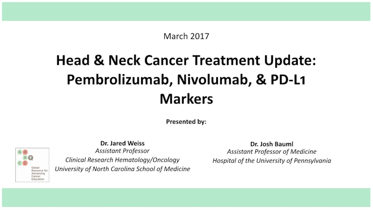 Head and Neck Cancer | CancerGRACE