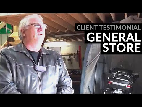 Commercial Retail Metal Building Testimonial, Retail Steel Building