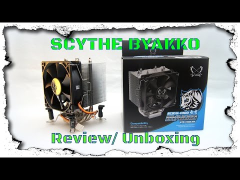 *Brand neu* Scythe Byakko SCBYK-1000 Kühler - Unboxing/ Review/ Test - German/ Deutsch