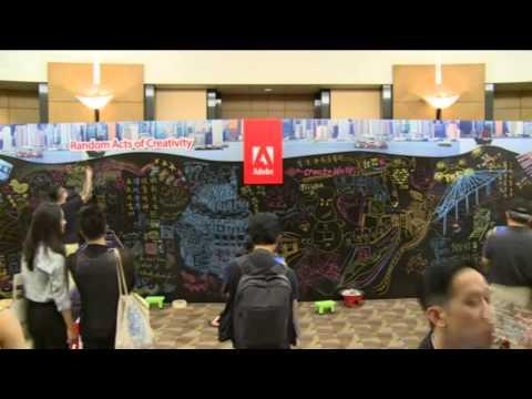 Adobe Hong Kong - Random Acts of Creativity