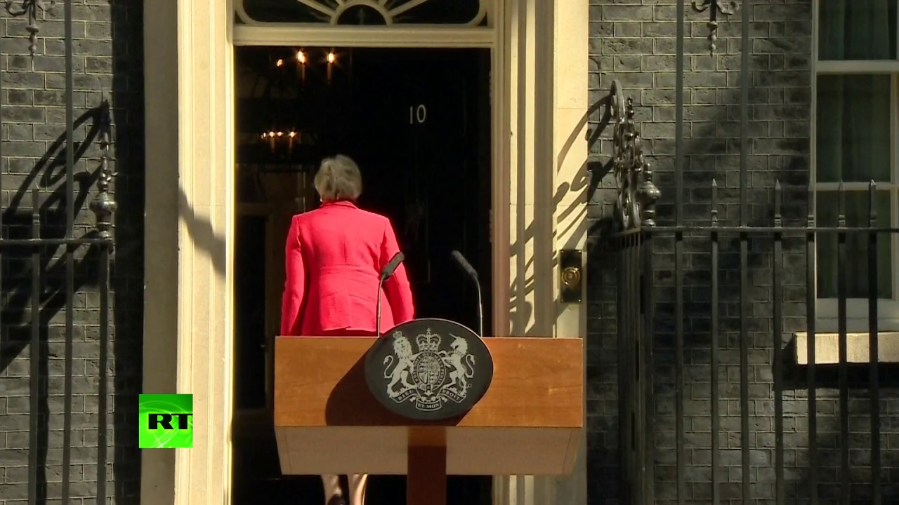 THERESA MAY QUITS AS BRITISH PRIME MINISTER