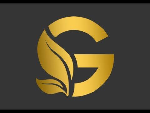Photoshop tutorial # Gold logo // Kamo Tutorials// thumbnail