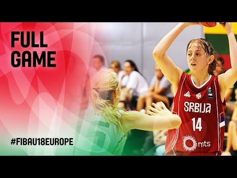 Lithuania v Serbia - Full Game - FIBA U18 Women