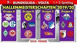 FIFA 20: Hallenmeisterschaften l Spieltag 1 & 2 - Bundesliga Volta l Deutsch [FULL HD]