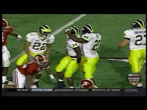 1999 Orange Bowl - #8 Michigan vs. #5 Alabama (HD)