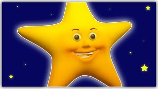 Twinkle Twinkle Little Star - English Nursery Rhymes for Children, Kids and Babies