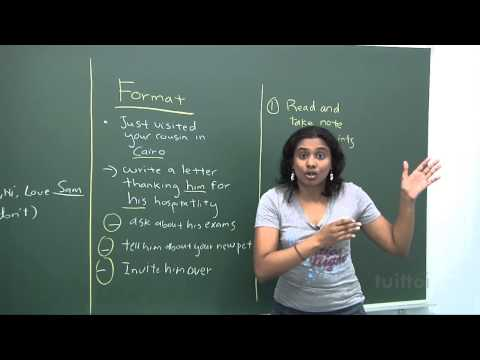 English Secondary 1/2 - Basic Level Composition Writing - Situational Writing Demo Video
