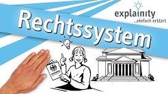 Das deutsche Rechtssystem einfach erklärt (explainity® Erklärvideo)
