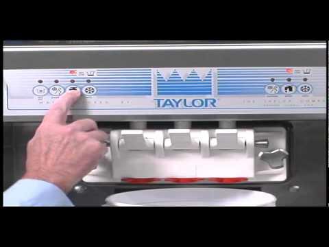 taylor freezer soft serve machine 161 youtube rh youtube com taylor ice cream machine manual c709 taylor ice cream machine manual c713