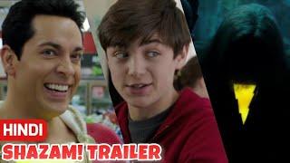 LATEst Shazam! Hindi Movie Trailer Review | DC India