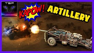 Crossout #484 ► Artillery Cannon Build & Funny Gameplay