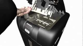 Rexel Auto+ 500X Shredder - New 2013 Video