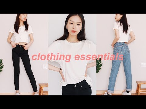 my favorite clothing pieces for spring & summer!