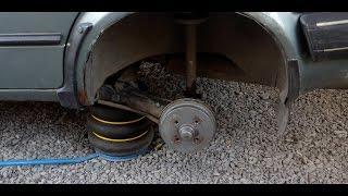 VW Golf 2 Замена задней балки