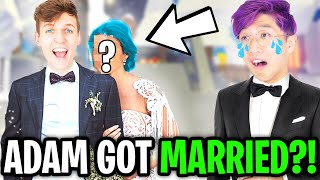 LANKYBOX ADAM GETS MARRIED In ROBLOX ADOPT ME!? (HILARIOUS MOMENTS!)
