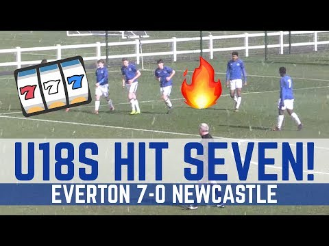 U18 HIGHLIGHTS: EVERTON 7-0 NEWCASTLE