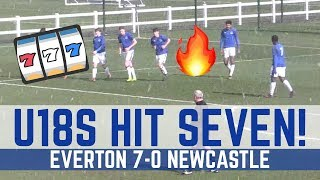 U18 HIGHLIGHTS: EVERTON 7-0 NEWCASTLE