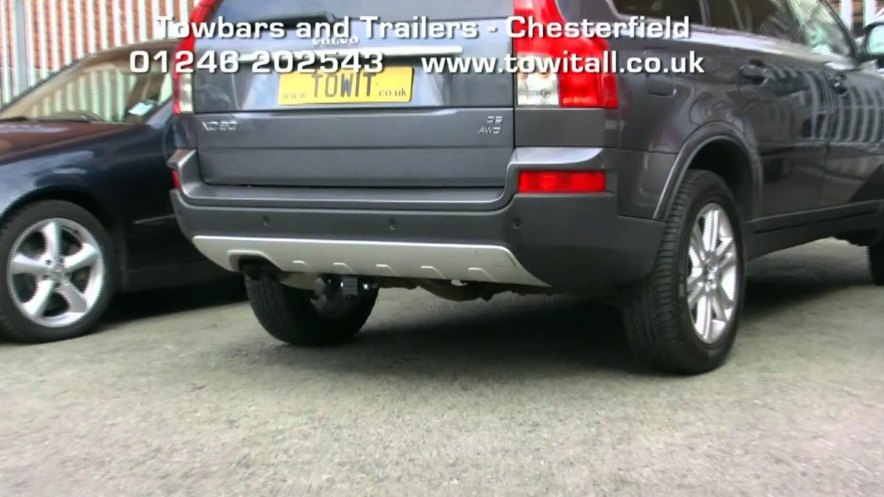 Towbar Video - Volvo XC90 Detachables - YouTube