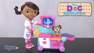 Doc McStuffins Toy Hospital Magic Talking Doc & Care Cart from Just Play