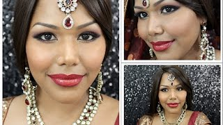 Modern South Indian Bridal Makeup (South Asian Bride Magazine Feature)