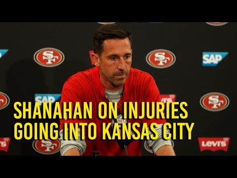 Shanahan gives 49ers injury report going into week 3 against Kansas City