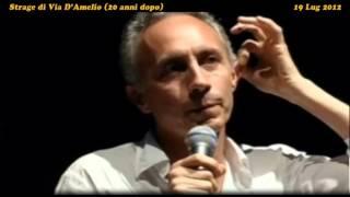 Marco Travaglio sulla trattativa Stato-Mafia e le intercettazioni di Napolitano (19Lug2012)